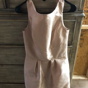 Boatneck Sheath Dress with Pockets